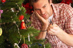 reparar arbol de navidad