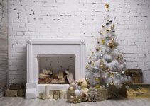 decorar un arbol de navidad blanco